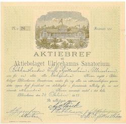 Ulricehamns Sanatorium, AB
