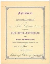 Ulfö Hotell AB