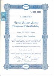United Swedish-Syrian Co.Ldt. AB