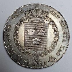 *Karl XIII, 1 Riksdaler 1816
