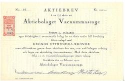 Vacummassage AB