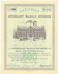 Walhalls Bryggerier, AB