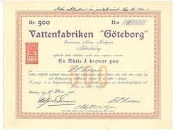 Vattenfabriken Göteborg AB