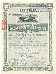 Waxholms Hotell AB