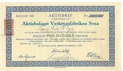 Verktygsfabriken Svea, AB