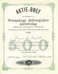 Wermskogs Silfvergrufve AB