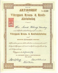 Vibyggerå Kvarn & Kraft AB