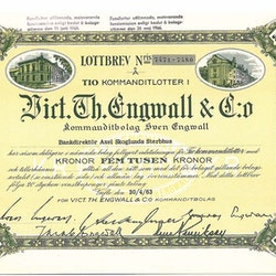 Vict.Th.Engwall & Co. Kommanditbolag