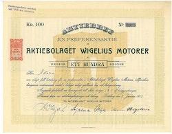 Wigelius Motorer, AB