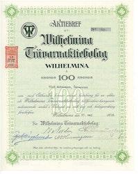 Wilhelmina Trävaru, AB