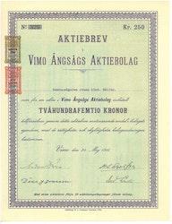 Vimo Ångsågs AB