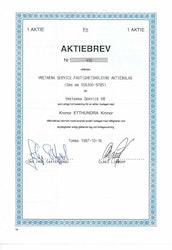Vretarna Service Fastighetsholding AB