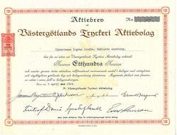 Västergötlands Tryckeri AB