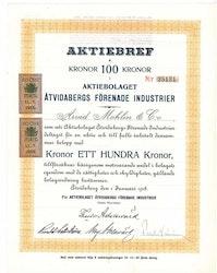 Åtvidabergs Förenade Industrier, AB