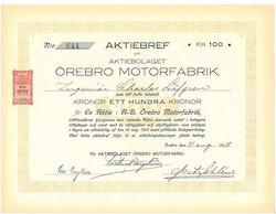 Örebro Motorfabrik, AB