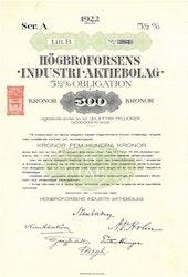 Högbroforsens Industri AB