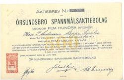 Örsundsbro Spanmåls AB