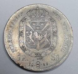 Karl XIV Johan 1 Riksdaler Specie 1839