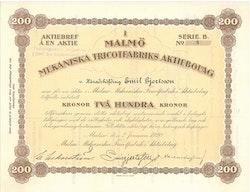Malmö Mekaniska Tricotfabriks AB