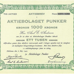 Punker, AB