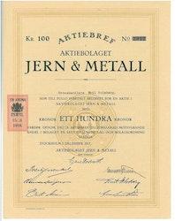 Jern & Metall, AB
