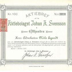 Johan A. Svensson