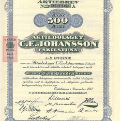 Johansson Eskilstuna, AB C.E