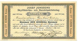 Josef Jonsson Skyltfabriks o Handels AB