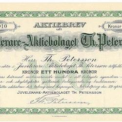 Juvelerare AB Th Petersson