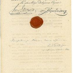 Nederlags-magazinet i Carlshamn 1828