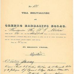 Örebro Badbasinsbolaget 1844