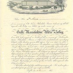 Gefle Manufaktur AB 1849, Undert.Lars Johan Hierta,