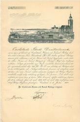 Carlstads Hamn o Kanal 1852