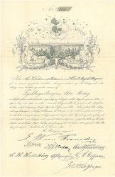 Tysk Bagar Bergen 1861
