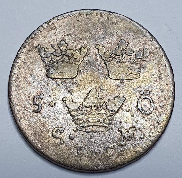 Ulrika Eleonora 5 Öre 1719