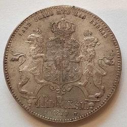 *Karl XV 4 Rdr Rmt, 1870