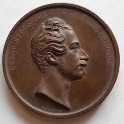 Oskar I, Jernkontoret