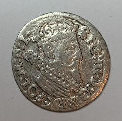 Sigismund, 3 Groschen 1623, Polen