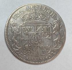 Karl XII 1 Riksdaler 1713