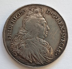 *Fredrik I, 1 Riksdaler, 1727