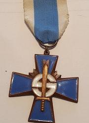 Finland, Blåa korset, 1918-1944,