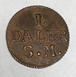 Karl XII 1 Daler Krona 1715