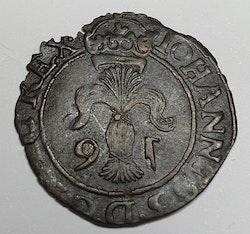 *Johan III, 2 Öre 1591