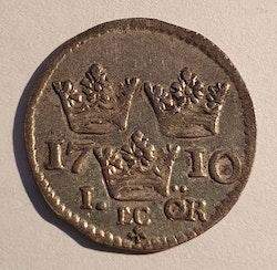 Karl XII, 1 Öre 1710