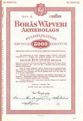 Borås Wäfveri AB, 4 1/2%