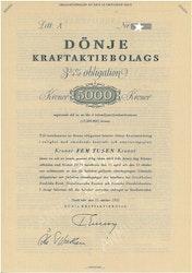 Dönje Kraft AB 3 3/4%