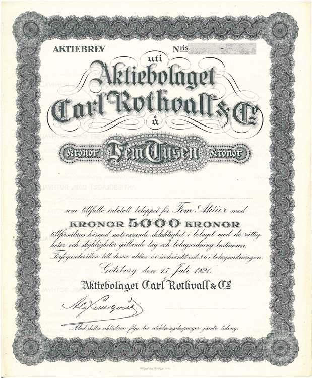 Carl Rothvall & Co AB