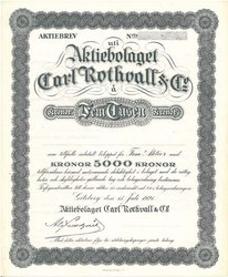Carl Rothvall & Co AB