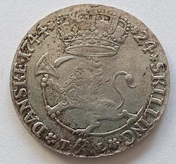 Christian VI, 24 Skilling 1744