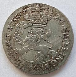 1755, Fredrik V, 24 Skilling